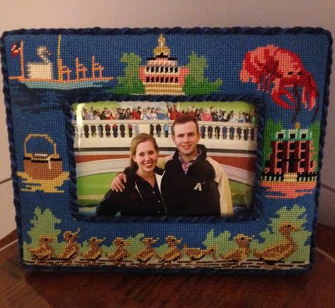 Boston Needlepoint Memento