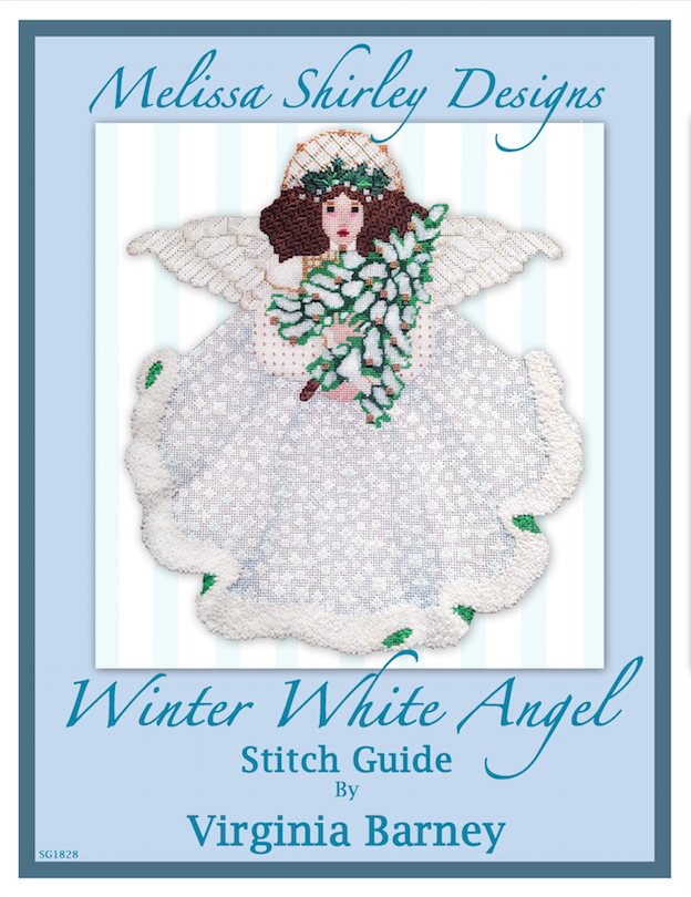 Melissa Shirley Winter White Angel Stitch Guide