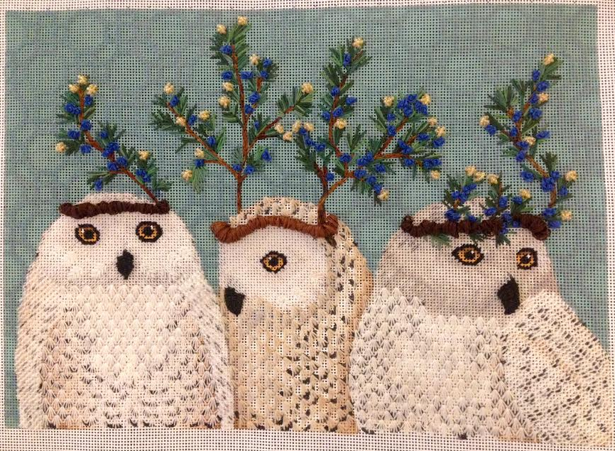 Festive Owls Finished