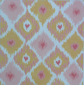 Top 10 Valentine's Day Canvases- Ikat