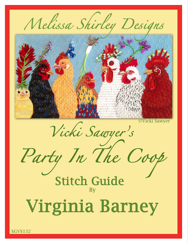 Stitching Submission- Party in the Coop!