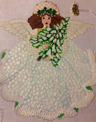 Melissa Shirley Winter White Angel Progress