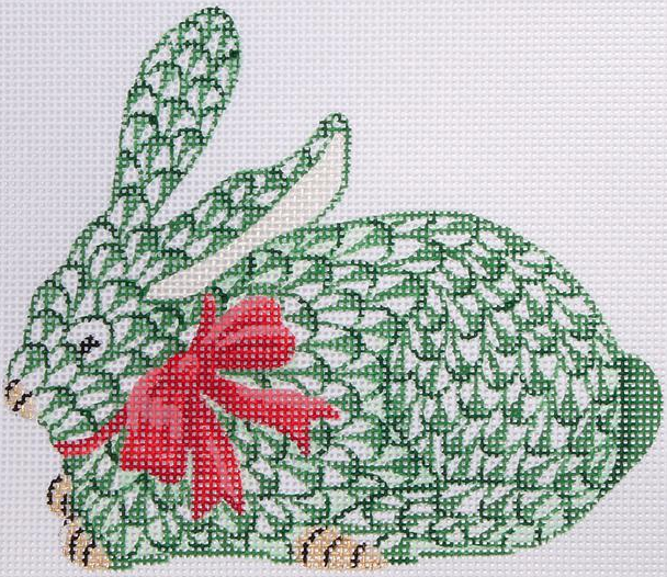 Kate Herend Herend Needlepoint Bunny