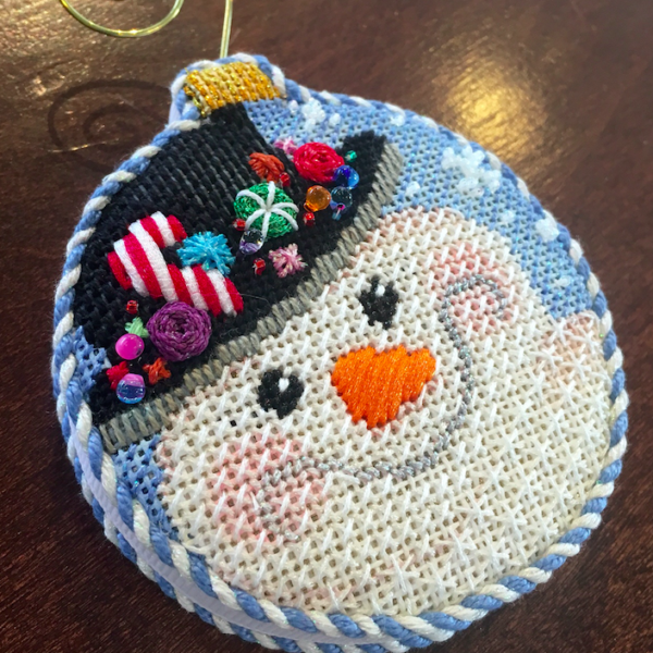 Snow day Stitching