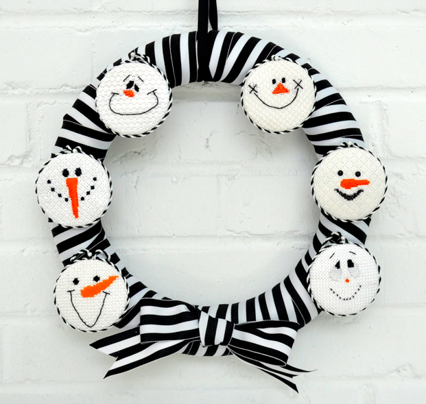 Frosty Wreath