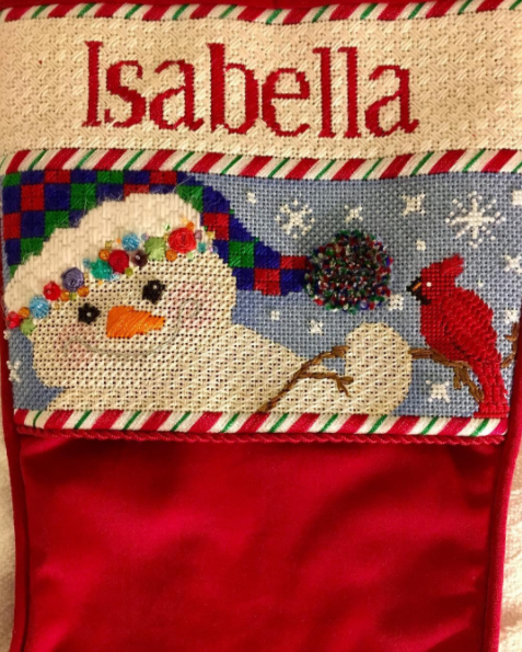 Needlepoint Christmas Gift