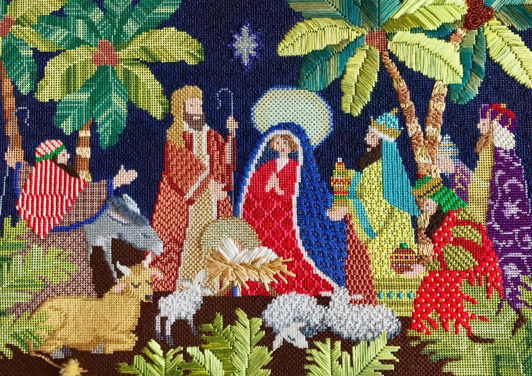 Nativity Stitching Update